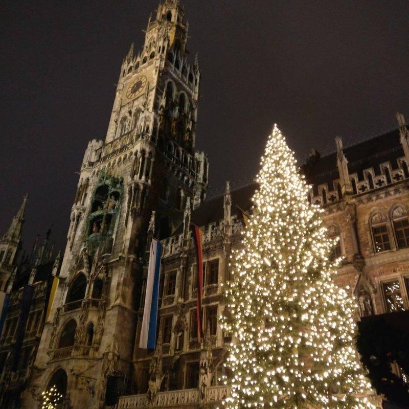 Marienplatz zur Weihnachtszeit