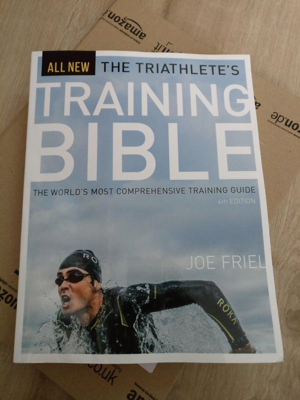 Mal sehen was die neue Ausgabe der Triathlete's Training Bible kann... #triathlon