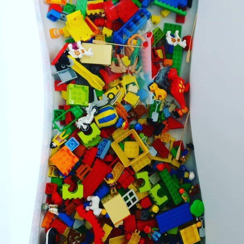 Bällebad kann ja jeder. Legobad ist das neue Ding!